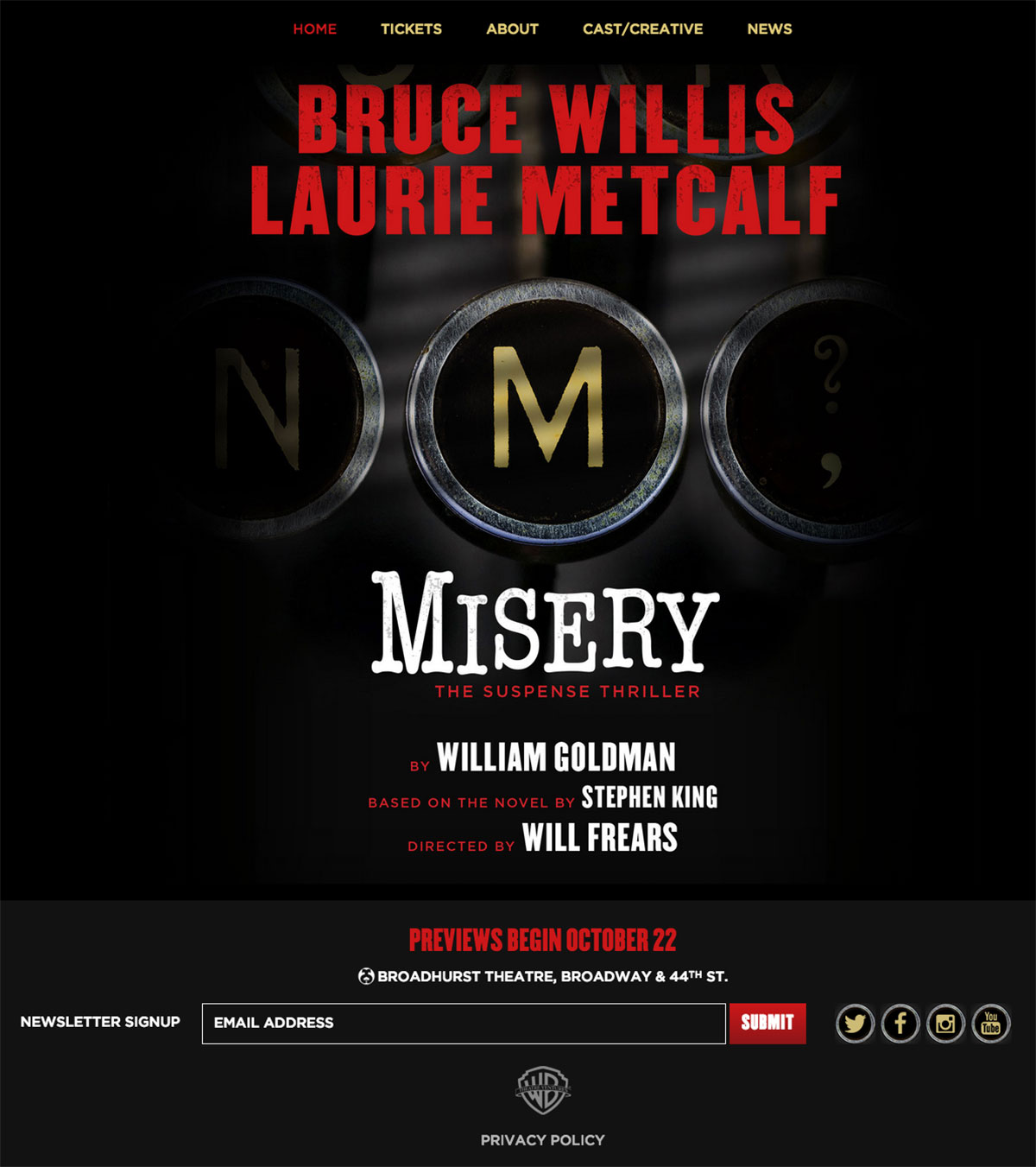 Misery-on-Broadway----Home